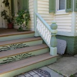 Front Porch with Custom Risers