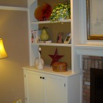 Custom Built-in Bookcase