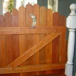 Custom Porch Gate