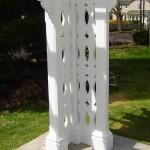 Custom Pergola Post and Base