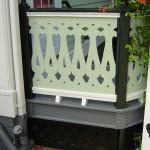 Back Porch Railing