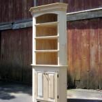 Custom Corner Bookshelf