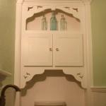 Custom Built-in Cabinet in Half Bathroom