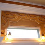 Custom Window Trim with Decorative Framing