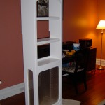 Custom Bookcase with Radiator Cover