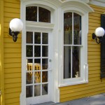 Arched Trim on Back Porch