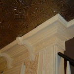 Custom Crown Molding with Decorative Trim