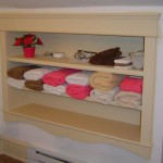 Custom Bathroom Built-in Shelf
