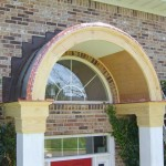 Front Entry Custom Arch