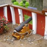 Custom Cannon Door
